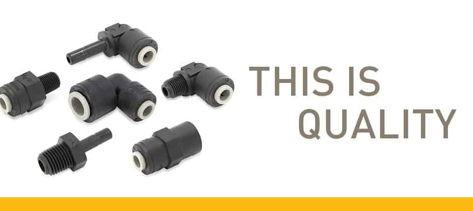 Black TruSeal Fittings Now Available