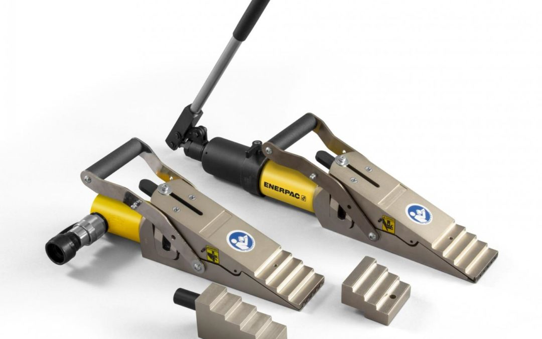 New From Enerpac – Lifting Wedge with Integral Pump!